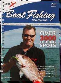 Spot X Boat Fishing NZ 2nd Edition
